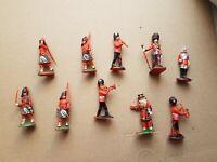 Plastikfiguren Satz - Britische Hofgarde (70 er Jahre -10 Stück) 70 er Jahre