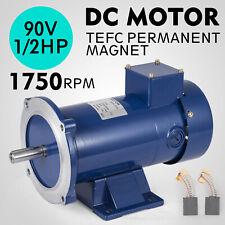DC MOTOR 1/2HP 56C Frame 90V/1750RPM TEFC MAGNET