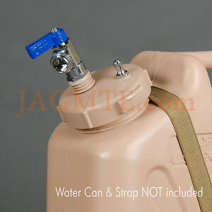 Ball Valve Pressure Kit - Scepter - Tan Cap for the Scepter Military WATER Can