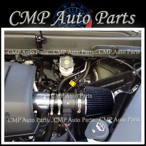 BLACK AIR INTAKE KIT FIT 2007-2011 GMC ACADIA DENALI SL SLE SLT 3.6 3.6L V6