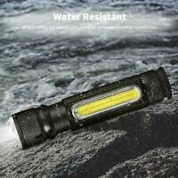 50000LM T6 3Modes USB Rechargeable 18650 LED Flashlight Torch Zoom Lamp Light