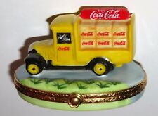 LIMOGES BOX - ARTORIA - OLD-FASHIONED COCA-COLA DELIVERY TRUCK - LE #96 - RARE