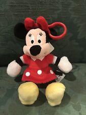 Minnie Mouse NWT Key Chain Backpack Stuffed Plush Disney Parks World