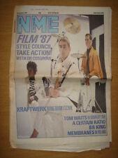 NME 1987 JAN 10 STYLE COUNCIL KRAFTWERK BB KING WAITS