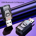 4 in 1 USB Bluetooth 5.0 Transmitter Receiver Mic EDR Adapter Dongle 3.5mm -ca