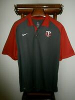 NIKE 2XL MLB Authentic Collection Minnesota Twins Short Sleeve Polo -FAST SHIP-