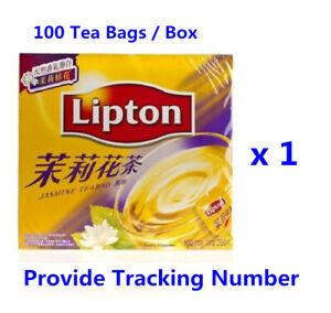 Lipton 100% Natural Jasmine Tea (100 Tea Bags / box ) 立頓中國茉莉花茶包