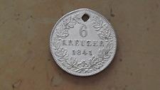 Frankfurt:  6 Kreuzer  1841