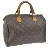LOUIS VUITTON SPEEDY 30 HAND BAG MONOGRAM CANVAS M41526 A43932k