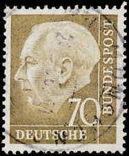 Scott # 716 - 1954 - ' Theodor Heuss '
