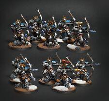 Stormcast Judicators 10men unit - age of sigmar* Commission * pro painting