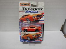 Matchbox Superfast America 1970 Pontiac GTO #17 021621MGL3