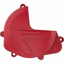 Honda CRF450R CRF450RX 2017–2020 Polisport Clutch Cover Protection Red
