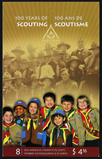 Canada Stamps -Booklet Pane of 8 -100 Years of Scouting #2 X 2225a (BK357) -MNH