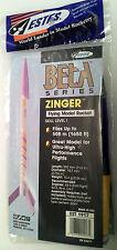 Estes Zinger Model Rocket Kit (Oop)