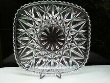 Branded HOYA Crystal Glass Made in JAPAN Serving Platter Decorative SP1