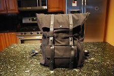 Philip Lim Canvas Unisex BLACK Backpack NEW