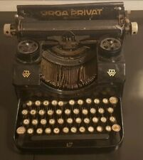 Orga Privat Type Writer / Screibmachine  - Not Functional