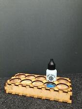 3mm MDF Storage holder idea for 10 pots (Pixie Powders etc....)