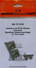 Quickboost 1/72 Junkers Ju87G Stuka Correct Spatted Undercarriag