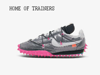 NIKE X OFF-WHITE WAFFLE RACER ATHLETE IN PROGRESS Pink Girls Women's Trainers
