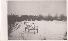 PARKGATE (Cheshire) : Winter 1940-The Garden  in Devon Bank Feb.   RP