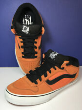 VANS TNT II 2 Mid Skate Shoes Mens Size 11.5 US Orange & Black Great Conditioin