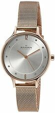 Skagen Women's Anita Quartz Rose Gold Tone Stainless Steel Watch SKW2151