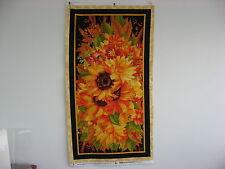 Autumn Inspirations Panel100% Cotton fabric