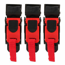 Motorcycle Helmet Chin Strap Quick Release 3 Pieces