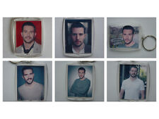 Michael Parr ( Ross Barton ), Photo Keyring / bag tag, clear plastic,