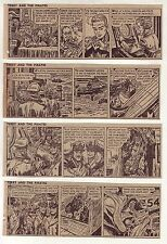 Terry and the Pirates by Wunder - 27 daily comic strips - Complete January 1958