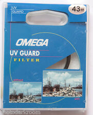 43mm UV Guard - Photo Filter - Protect Lens - Omega 16765 - Japan - NEW F12