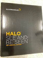 Nib Illumagear Halo Wireless Rechargeable 360 Deg Hard Hat Light With Charger Kit