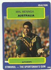 Mal Meninga Original Single NRL & Rugby League Trading Cards