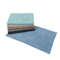 Andorra - 100% Soft Cotton Rectangular Bath Mat / Rug - 80cm x 50cm
