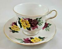 VINTAGE QUEEN ANNE TEA CUP & SAUCER BONE CHINA MADE IN ENGLAND