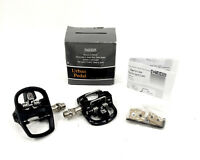 """SPD MKS URBAN STEP IN """"A"""" W/ PLATFORM DUAL COMBO BICYCLE PEDALS WITH CLEATS"""