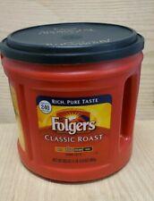 Folgers Classic Roast Ground Coffee, Medium Roast - 30.5oz