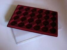 COIN TRAY FOR 24 COINS + COVER ( CROWN IN CAPSULE) PO24