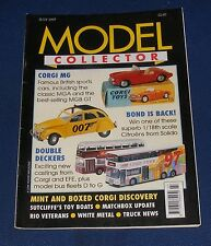 MODEL COLLECTOR JULY 1997 - CORGI MG/BOND IS BACK!/DOUBLE DECKERS