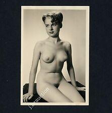 #267 RÖSSLER AKTFOTO / NUDE WOMAN STUDY * Vintage 1950s Studio Photo - no PC !
