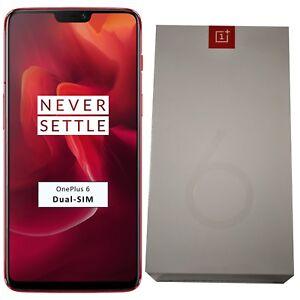 BNIB OnePlus 6 A6003 128GB / 8GB RAM Dual-SIM Red Factory Unlocked 4G/LTE GSM