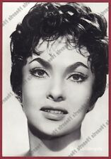 GINA LOLLOBRIGIDA 44 ATTRICE ACTRESS CINEMA MOVIE STAR PEOPLE Cartolina FOTOGRAF