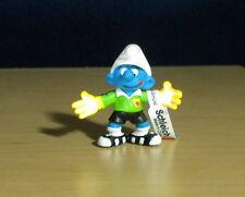 Smurfs Goalkeeper Smurf Soccer Goalie Vintage Figure Sports Toy Figurine 20525
