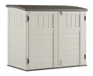 "Suncast BMS2500 53 x 31.5 x 45.5"" Horizontal Resin Outdoor Storage Shed w/ Floor"