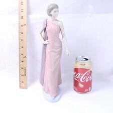 Extremely Rare Nao by Lladro Flirtatious #1215 Elegant Lady Porcelain Figurine