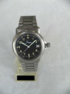 Sinn 8826 A Titan,~ 1992, schöner Chronometer + -zeugnis, gebr., Papiere, Top!