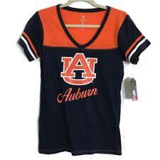 Women's M University of Auburn Tigers UA Shirt Medium  Rhinestone Accent Medium