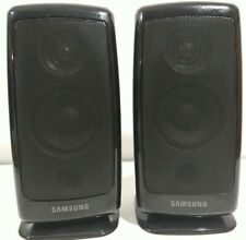 New listing Samsung Pair of Front Surround Sound Speakers Ps-Fbd1250 Great Tested